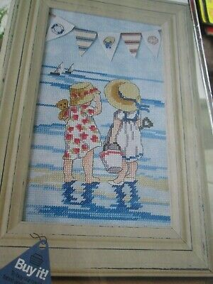 'By The Sea' Bunting  All Our Yesterdays Cross Stitch Chart Only