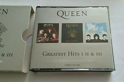 Queen - Greatest Hits 1-2-3. The Platinum Collection. Three Cd Set.