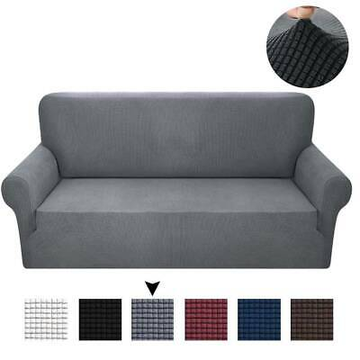 Sofa Cover Plaid Stretch Lounge Couch Slipcover Washable Removable 1/2/3/4seater