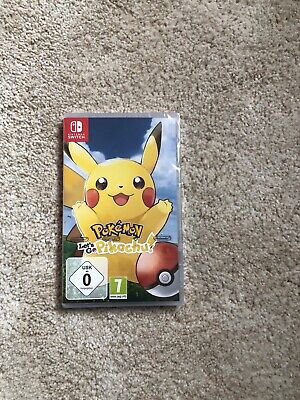 Neu Pokemon Lets Go Pikachu Nintendo Switch Neu
