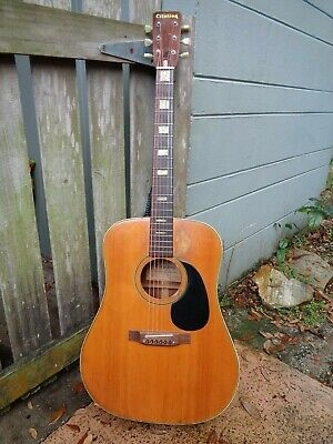 Vintage Citation Dreadnought Acoustic Guitar CIT 7001 Made in Canada
