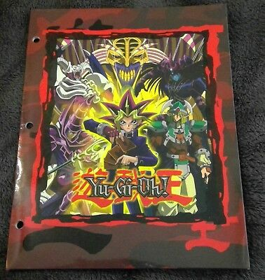 Yu-Gi-Oh! school folder anime manga starpoint yugioh card player 2003