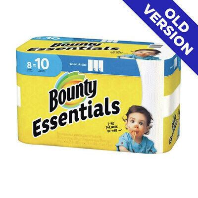Bounty Towels, 8 count Paper Towels (old version) FREE SHIPPING! HOT DEAL!