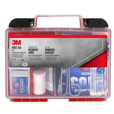 NEW! 3M First Aid Kit Industrial & Construction 118pc American Seller!