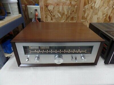 Kenwood Kt-7500 Stereo Tuner With Wood Cabinet, Original Box & Manual Buy-It-Now