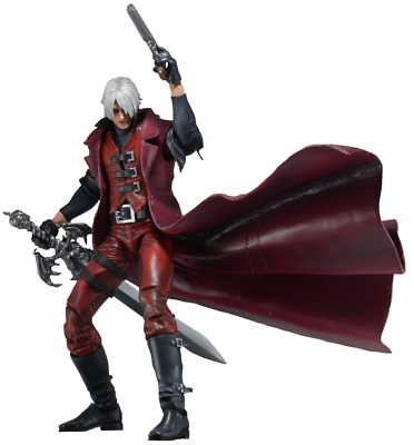 "Devil May Cry Dante PVC Action Figure Collectible Model Toy 7"" 18 cm Neca"
