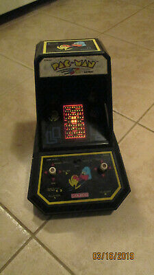 1981 Pac Man Coleco Tabletop Arcade Works Great