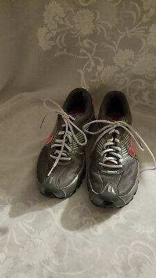 on sale 83959 f9f19 Nike Shox Women s Size 8.5 M Turbo Running Shoes Sneakers 344948-061 Gray