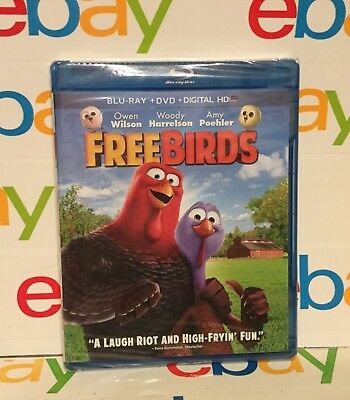 Free Birds (Blu-ray Disc, 2014, 2-Disc Set)