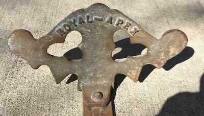 Antique Cast Iron Snow Bird Roof Guard Royal- Apex Architectural Salvage N.y