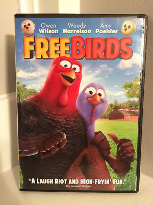 Free Birds-DVD-PG-Wilson-Poehler-Harrelson-Kids-Children-2013-Animated