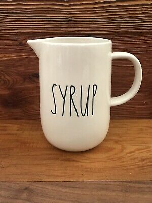 Rae Dunn SYRUP Small Pitcher
