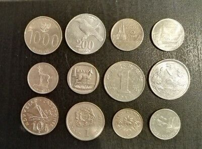Assorted World Coins (Lot A)