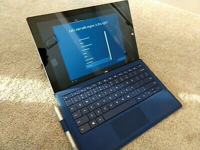 Microsoft Surface Pro 3 i7 4th Gen. 256GB SSD, +Type Cover +Pen - Used