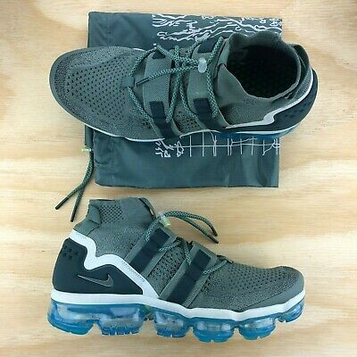 ef76d21d0ed82 Nike Air Vapormax Flyknit FK Utility Clay Green Running Shoes  AH6834-300   Size