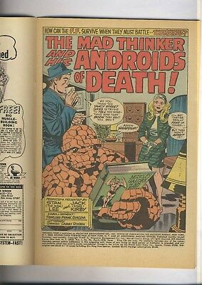 Fantastic Four 96    RAW VF/NM   JACK KIRBY  Early Bronze Age  1970  MAD THINKER
