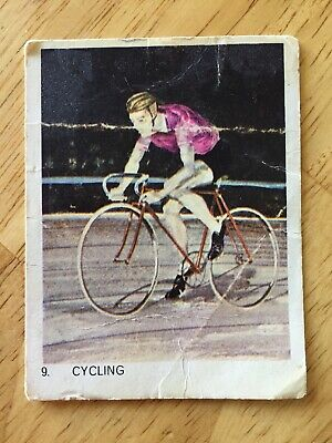 Veb Eggs Olympic Games Collectible Card #9 - Cycling
