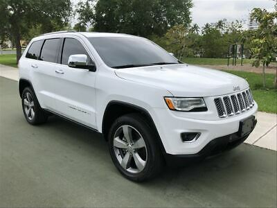 2016 Jeep Grand Cherokee 16 JEEP GRAND CHEROKEE LIMITED  $7,500 OP 2016 JEEP GRAND  LIMITED LOADED 46K MSRP 21K MILES PANORAMIC COLD WEATHER 15 17