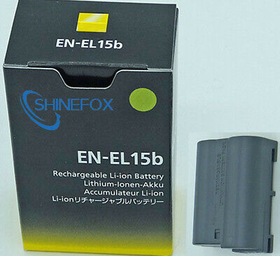 EN-EL15B ENEL15b Battery For Nikon Camera D7100 D7000 D800 D810 D750 Z7 Z6 V1