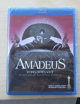 Amadeus (Blu-ray Disc, 1984) New Sealed Director's Cut