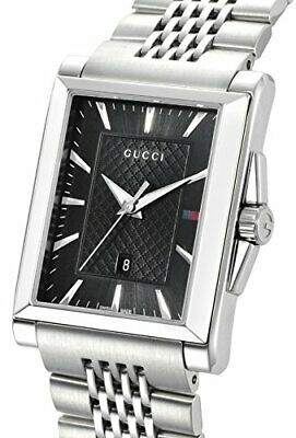 a582ad44dba Gucci Watch G-timeless Rectangle Black Dial Ya138401 Mens Parallel Import  Goods