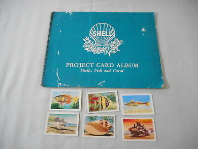 Discover Australia with Shell Project Card Album - Shells, Fish and Coral
