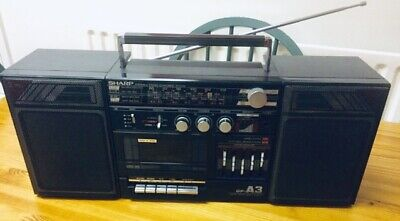 [ Sharp - Gfa3 ] [ Vintage Boombox ] [ Portable Stereo System ]