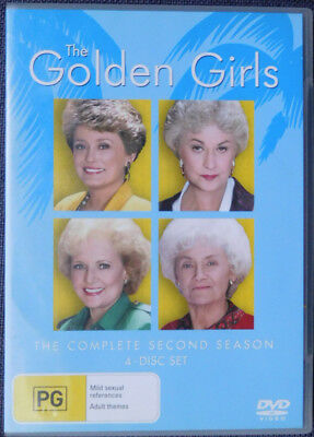 The Golden Girls | The Complete Second Season 2 (DVD, 4-Disc Set)
