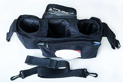 Stroller Organizer W Easy Access To Wipes & Zipper Pocket Universal 852662986365