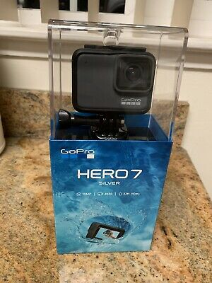 Brand New SEALED GoPro HERO7 SILVER HD Waterproof Action Camera