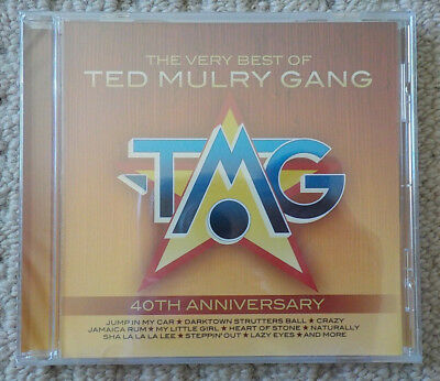 Ted Mulry Gang - The Very Best Of (40th Anniversary) - CD ALBUM [NEW & SEALED]