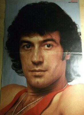 1 GERMAN POSTER ALBERT HAMMOND SINGER N  SHIRTLESS BOY BAND
