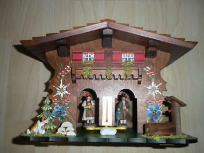 Exclusive Black Forest Chalet house German Weather house wooden made