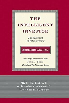 The Intelligent Investor The Classic Text by Benjamin Graham Hardcover NEW