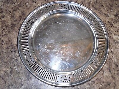 Vintage William Suckling & Sons A1 Plate Silver Plated Small Dish