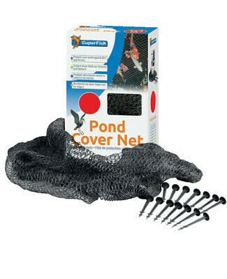 Superfish Heavy Duty POND COVER NET Protect Koi Fish From Birds Cats Leaves