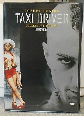 Taxi Driver (DVD 1999 Collector's) RARE 1976 CRIME DRAMA ROBERT DeNIRO BRAND NEW
