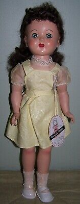 1950's USA HARD PLASTIC WALKER DOLL MARY-LU - ORIGINAL PACKAGING