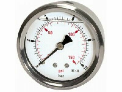 PRESSURE LINE Glyzerinmanometer G 1/4 rücks. ¢ 63 mm 0-10 bar   807-CDE