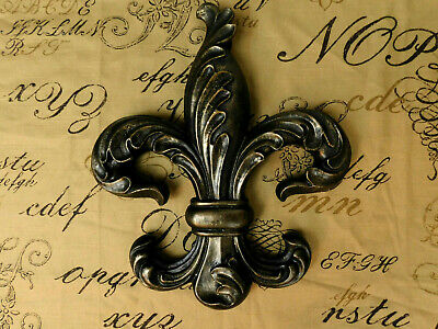 Fleur de Lis, Wall Plaque, Tuscan, Medieval, French Country, New Orleans, Office