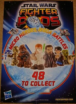 Star Wars Fighter Pods Series 1 Collectors Poster
