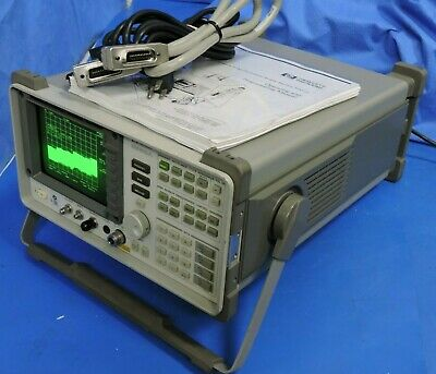HP 8562A Spectrum Analyzer 1kHz - 22GHz with Manual Guide GPIB Cable Calibrated