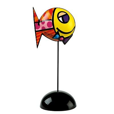 DEEPLY IN LOVE I  Goebel Skulptur PopArt 66450917 Romero Britto fish Fisch