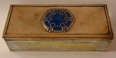 Very rare Art Nouveau Box with Enamel