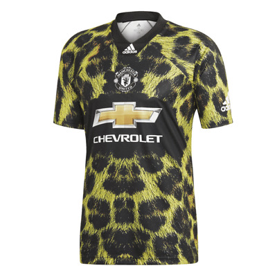 Manchester United Ea Sports Adidas 4th Jersey Leopard Large Mens BNWT