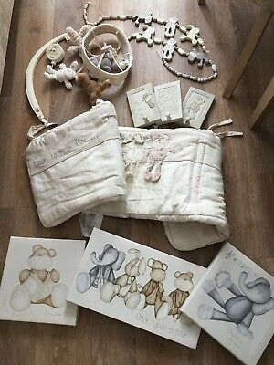 Mamas And Papas Once Upon A Time Cream Beige Baby Nursery Bundle