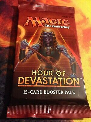 1x Magic the Gathering MTG Hour of Devastation New Factory Sealed Booster Pack