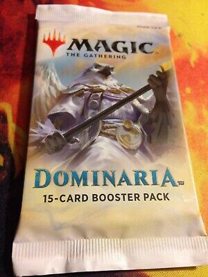 1x Magic the Gathering MTG Dominaria New Factory Sealed Booster Pack
