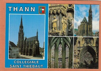 124 - Thann - Collegiale Saint Thiebaut - Multivues