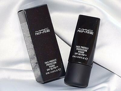 MAC prep + prime face protect protection visage spf 50 - new boxed 30ml